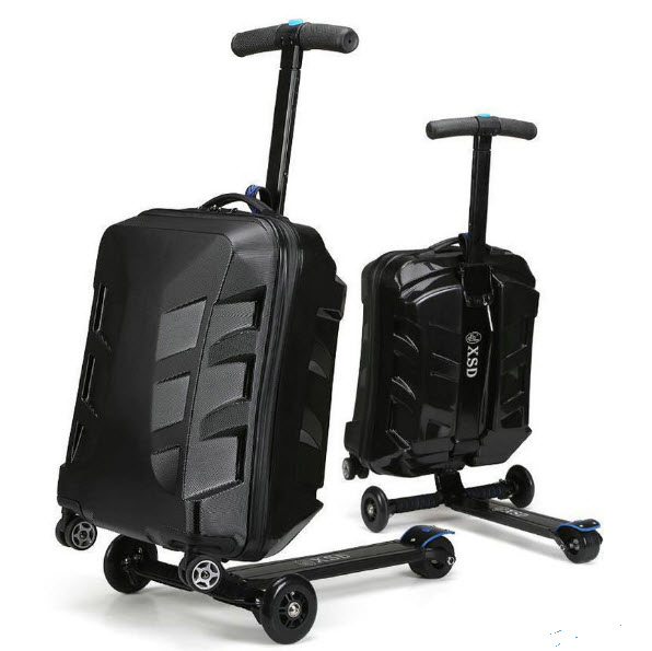 Transformer 21 Inch Ride On Scooter Suit Case Luggage Bag